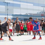 Chris Brown Kid Hard Knock Hoops Basketball
