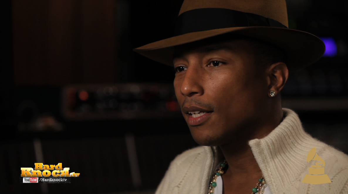 Pharrell Hard Knock TV Grammy Interview by Nick Huff Barili