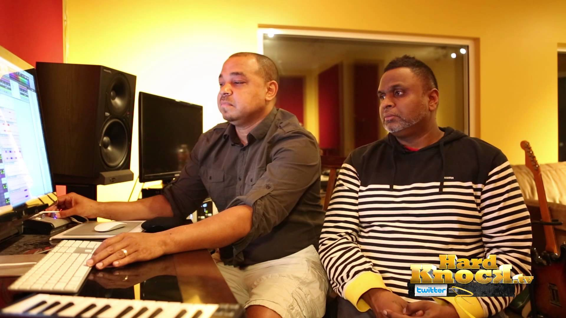 DJ Khalil Chin Injeti on How They Built Choir for Aloe Blacc The Man interview by Nick Huff Barili Hard knock tv