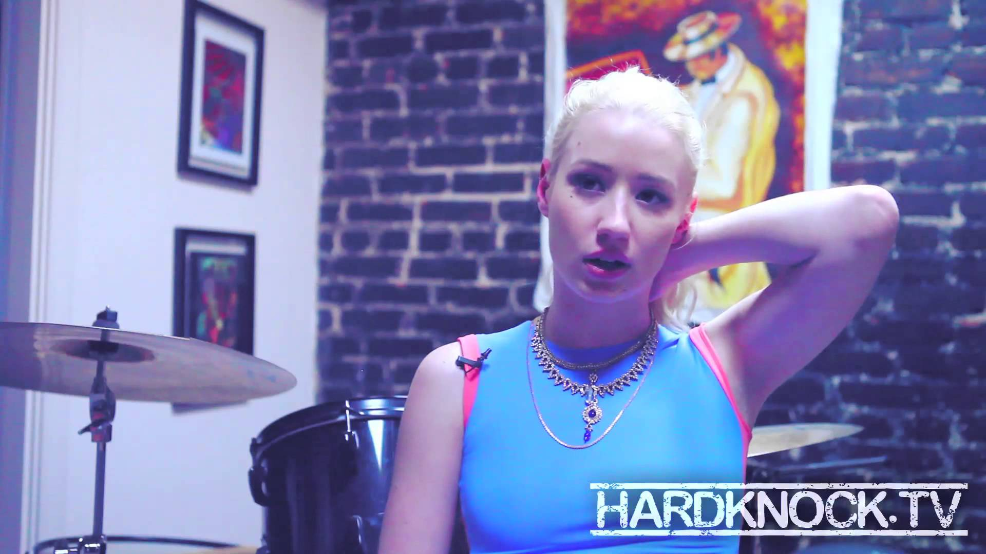 Iggy Azalea addresses race in Hip Hop, Illuminati,Interscope asking her to dumb down interview by Nick Huff Barili
