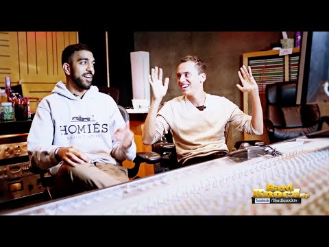 Logic + 6ix talk about Working Together, J Cole, 6ix Dropping out of Med School interview by Nick Huff Barili hard knock tv