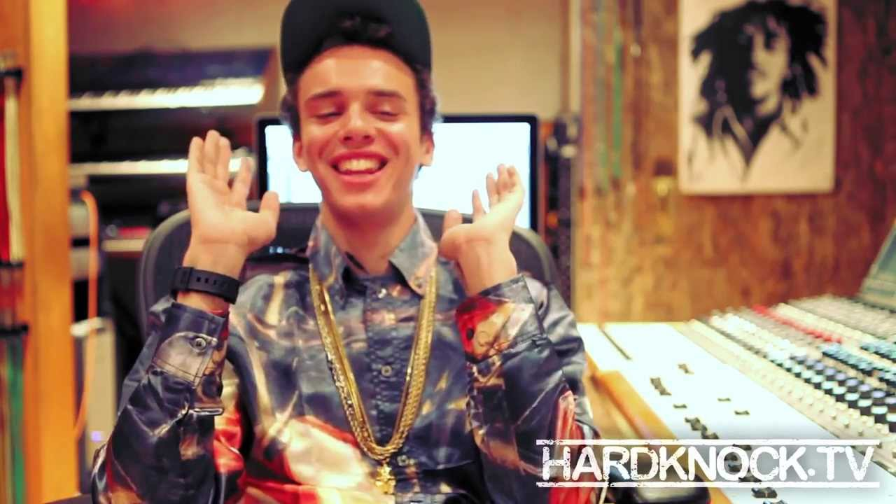 Logic talks getting kicked out of HS, not getting into drugs, working at Wing Stop, Jiffy Lube interview by Nick huff Barili