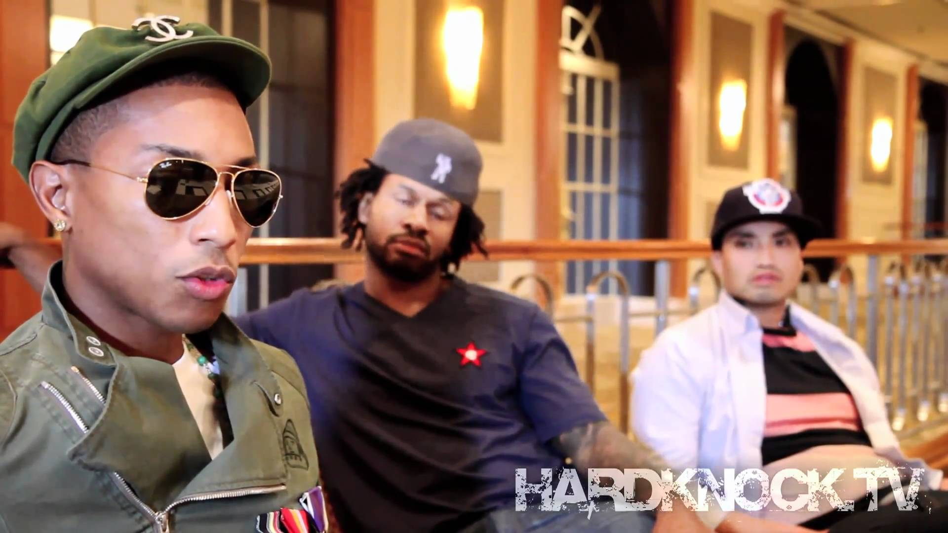 Pharrell says Lupe could join NERD, Talks Chester French, Alyssa Bernal, Robin Thicke interview by Nick Huff Barili
