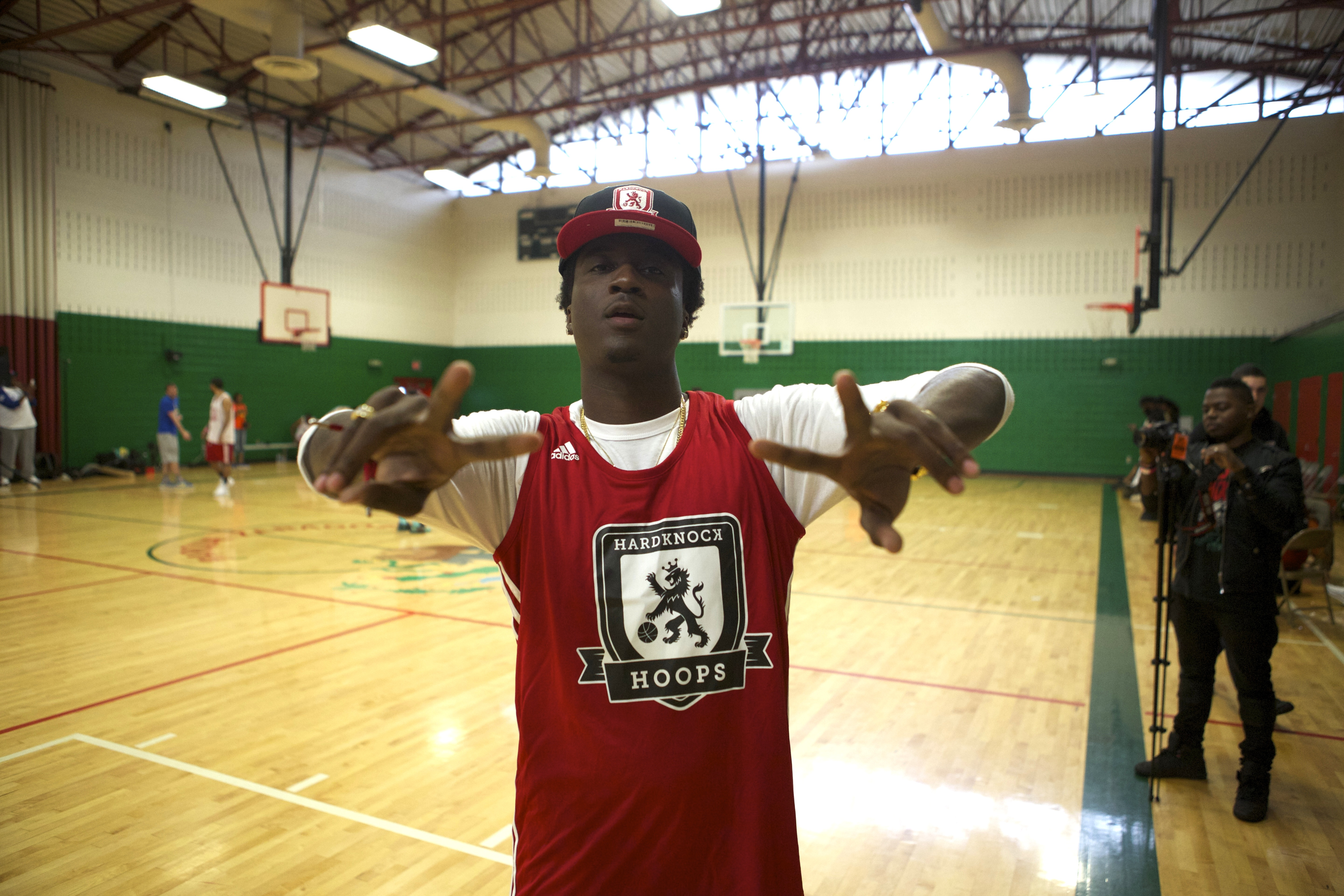 K Camp Hard Knock Hoops Adidas Jersey New Era Cap