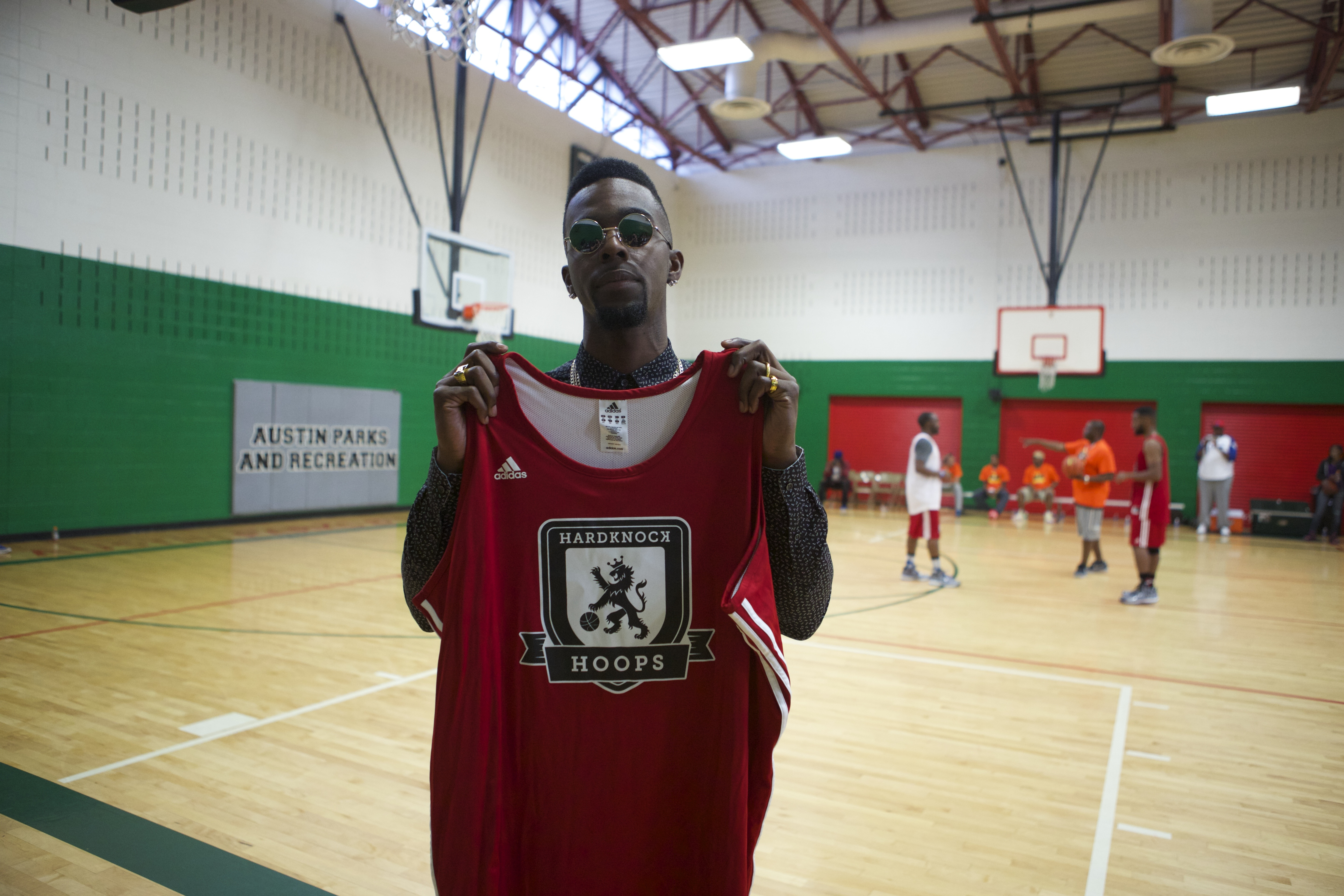 Roscoe Dash Hard Knock Hoops Adidas Jersey