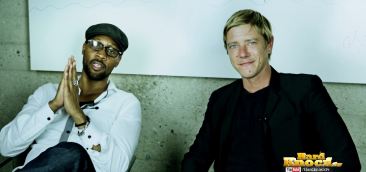 RZA and Paul Banks Hard Knock TV Nick Huff Barili