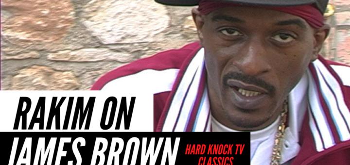 Rakim on James Brown Hard Knock TV
