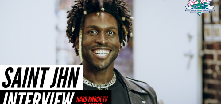 Saint Jhn Classic Hard Knock TV Interview